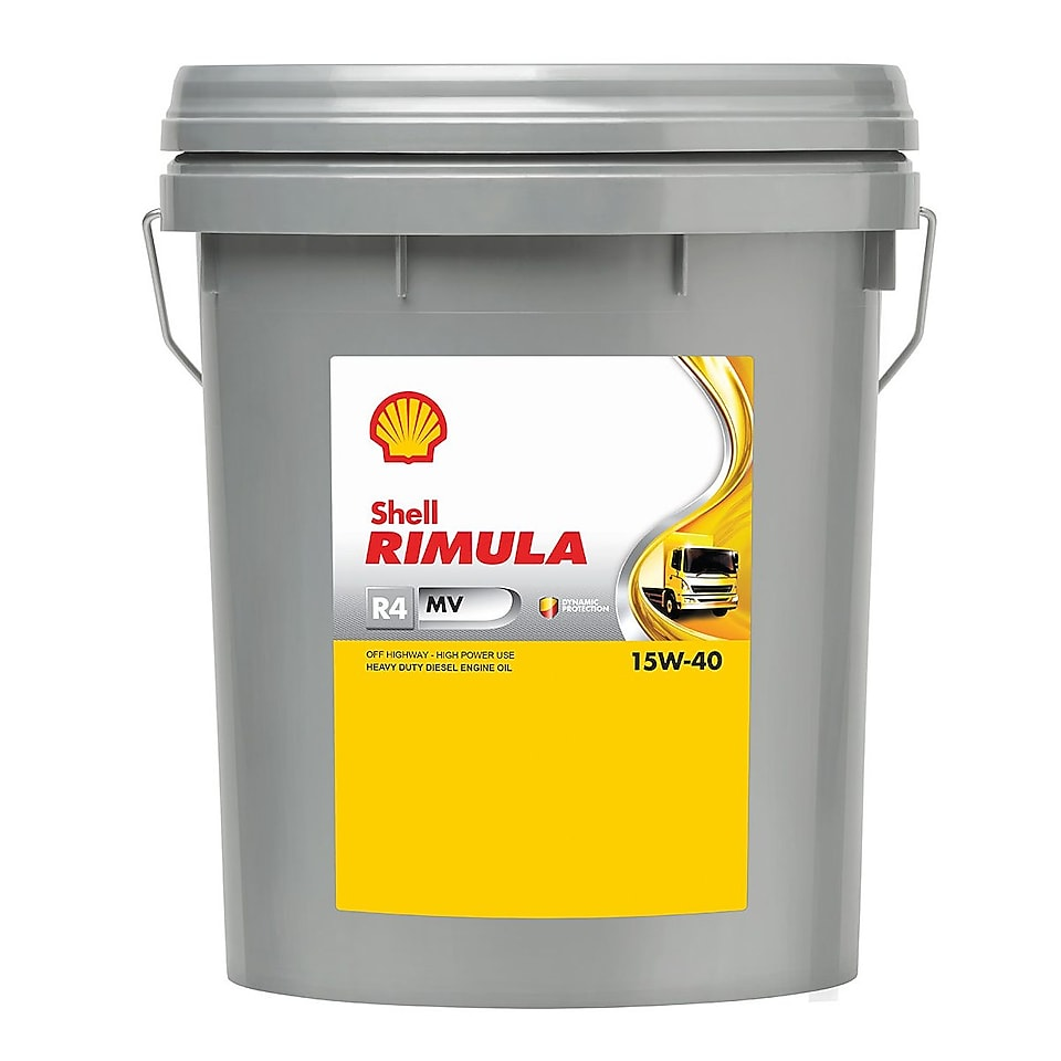 shell rimula R4-MV 15W-40